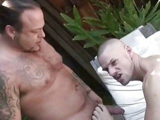 Pool Guy Fucked By His Bear Boss / 102