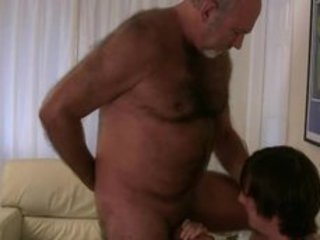 Old gay bear getting his dick sucked by twink gaypridevault / 52