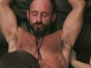 Three Way Gay Sex With Bald Studs And Bear / 101
