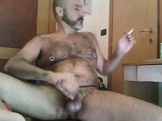 Smoking and cumming / 25