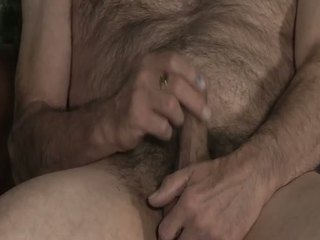 Hairy And Horny Daddy Jerking / 28
